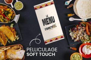 menu finition soft touch