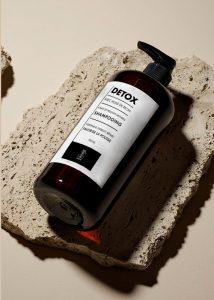 etiquette rouleau shampoing