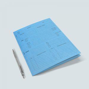 pochette administrative personnalisée