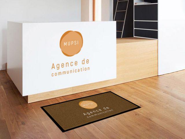 Créez votre tapis de sol à l'image de votre entreprise