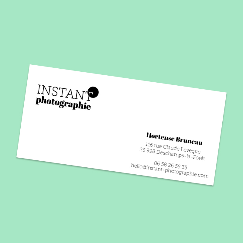 carte de correspondance photographie