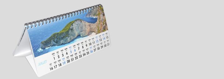 Impression calendrier pas cher impression calendrier en for Calendrier mural pas cher